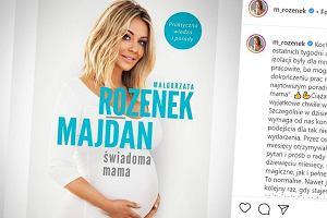 """Małgorzata Rozenek o płodności: """"Długo staraliśmy się z mężem o dziecko, (...) nasze organizmy potrzebowały energii i sił na wysiłek fizyczny i psychiczny"""""""