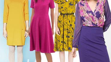 Sukienki w jesiennych kolorach