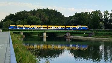 Most kolejowy w Żywcu