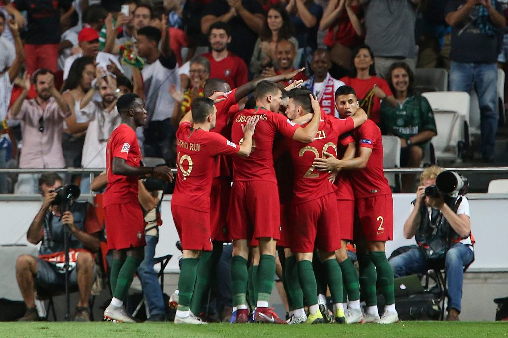 Portugal Italy Nations League Soccer