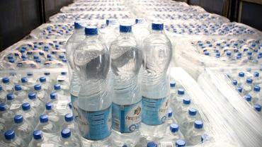 Woda mineralna wysłana do Bośni