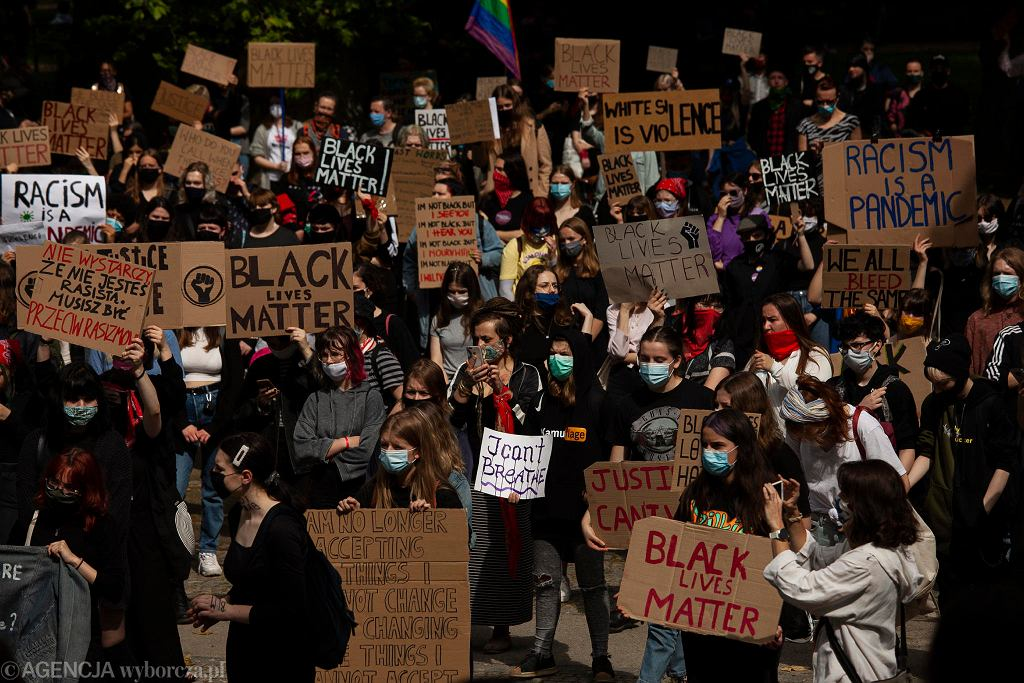Black Lives Matter we Wrocławiu