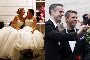 Masowe śluby homoseksualistów.