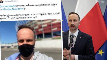 Janusz Kowalski zaszczepił się przeciwko COVID-19