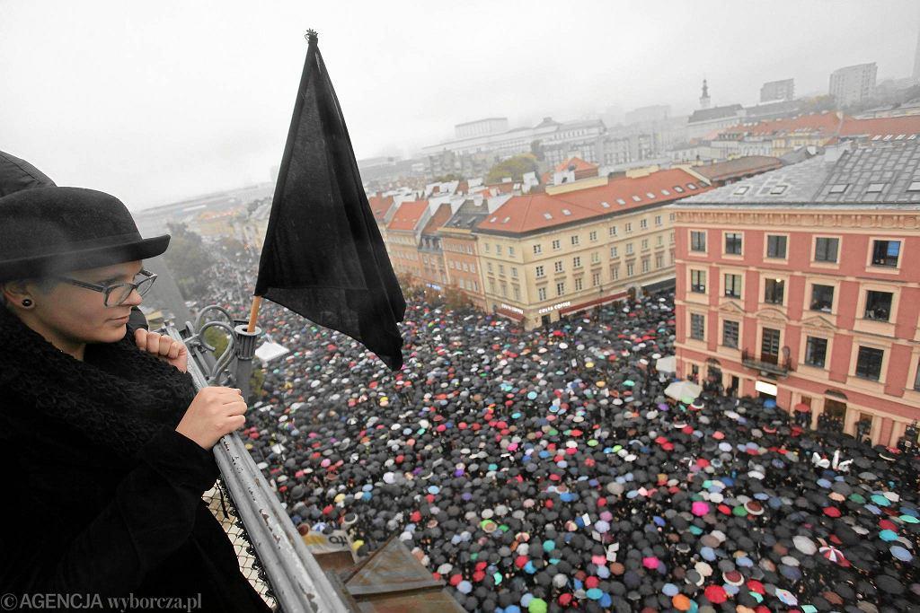 Ogólnopolski Strajk Kobiet, 3 października, Warszawa