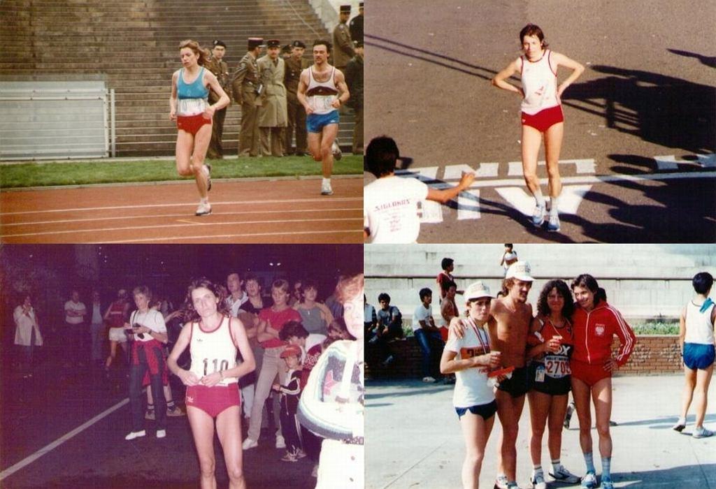 Anna Bełtowska-Król na maratonie