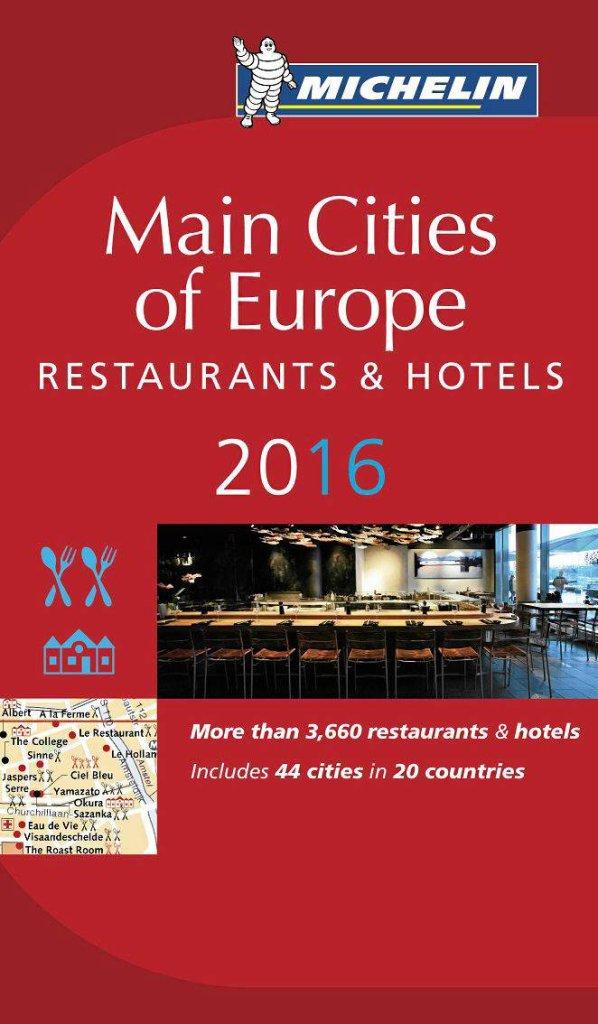 Przewodnik Michelin 'Main Cities of Europe 2016' / Materiały prasowe