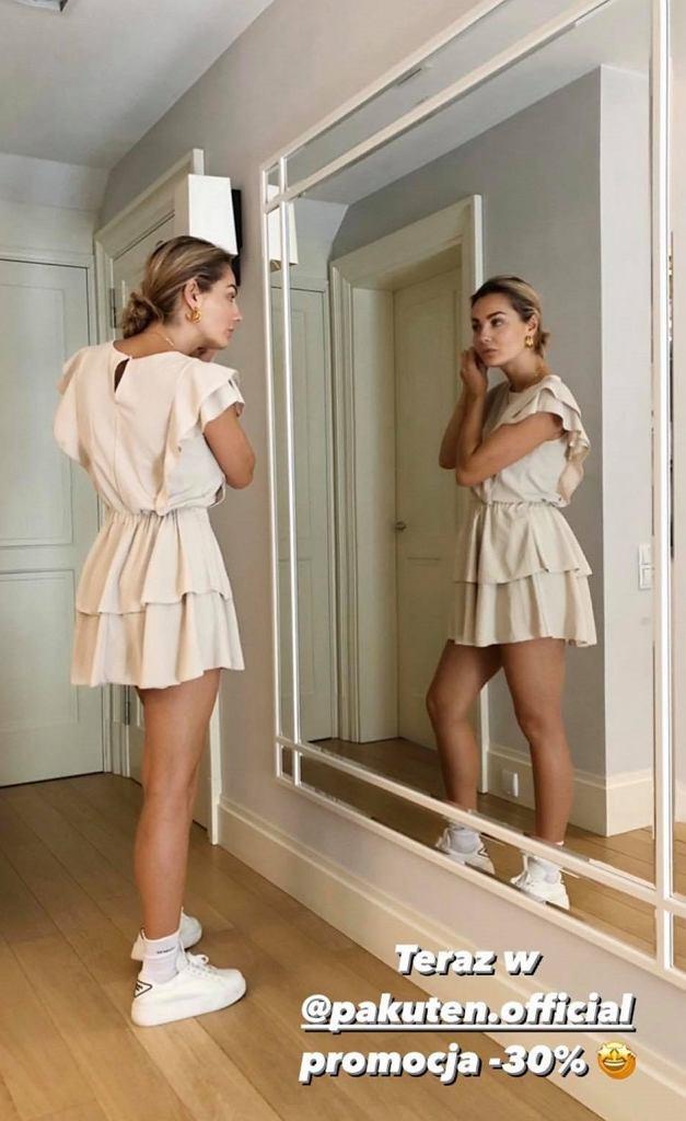 Małgorzata Socha w ultra modnej sukience za mniej niż 90 zł. Wiemy, gdzie można ją kupić