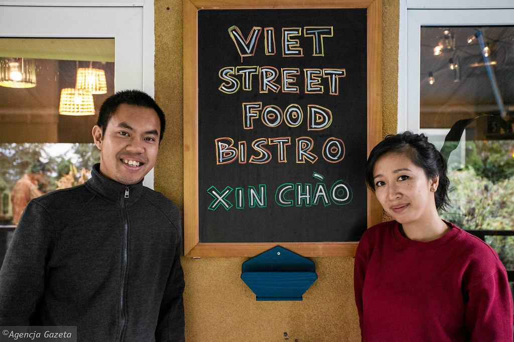 Bitos Hoang i Diep Hoang z restauracji Viet Street Food / DAWID ZUCHOWICZ