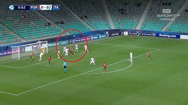 Gol dla Portugalii na Euro U-21 autorstwa Daniego Moty