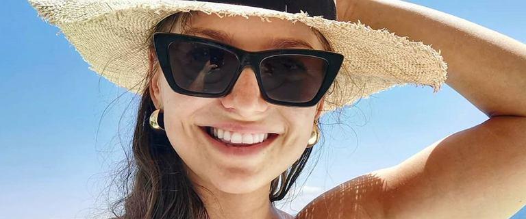 Anna Lewandowska zapozowała w stroju kąpielowym. Komplet polskiej marki sporo kosztuje