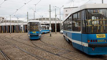 Zajezdnia tramwajowa nr II - Ołbin przy ulicy Słowiańskiej