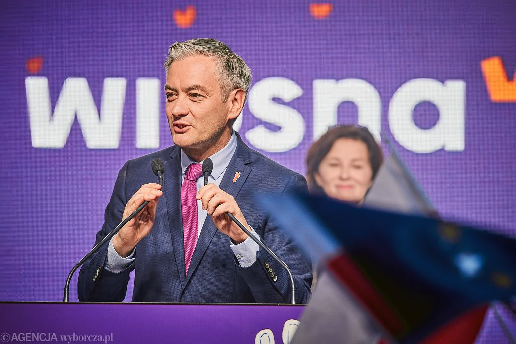 Robert Biedroń, 2019 r.