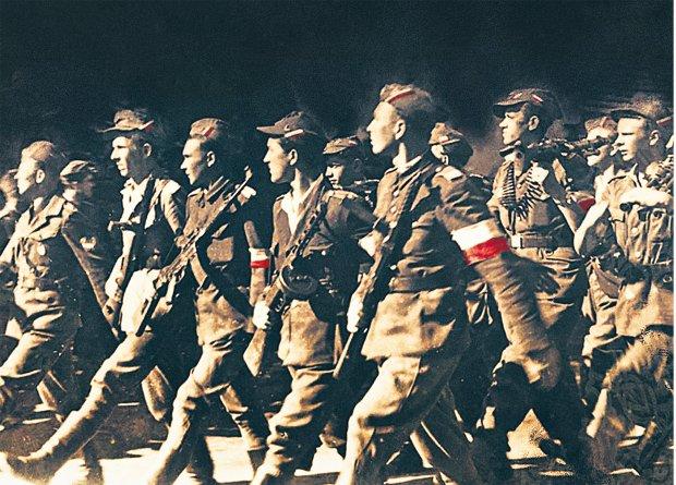 Żołnierze Brygady Świętokrzyskiej.