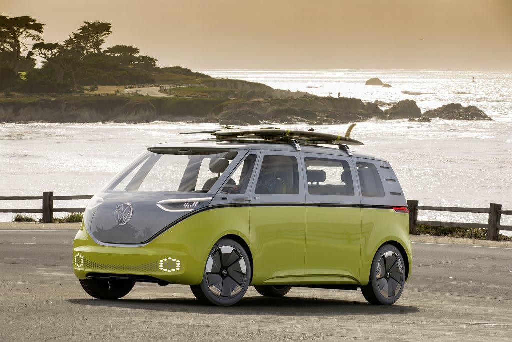 Volkswagen ID. BUZZ w Pebble Beach