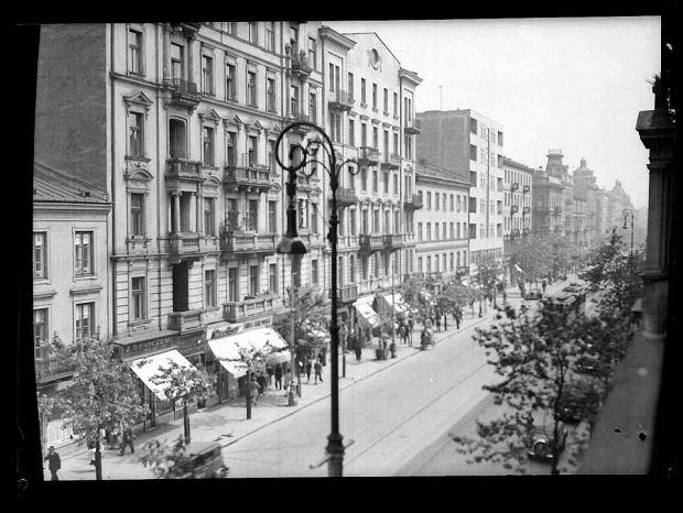 Ulica Marszałkowska w latach 30. XX w.