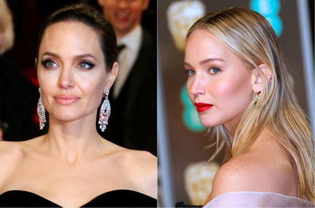 Zdjęcie numer 0 w galerii - BAFTA 2018: Gwiazdy w czerni. Angelina Jolie i Jennifer Lawrence prezentują się pięknie. Zjawiła się także ciężarna księżna Kate