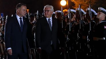 80. rocznica wybuchu II WŚ w Wieluniu. Prezydenci Polski i Niemiec: Andrzej Duda i Frank-Walter Steinmeier