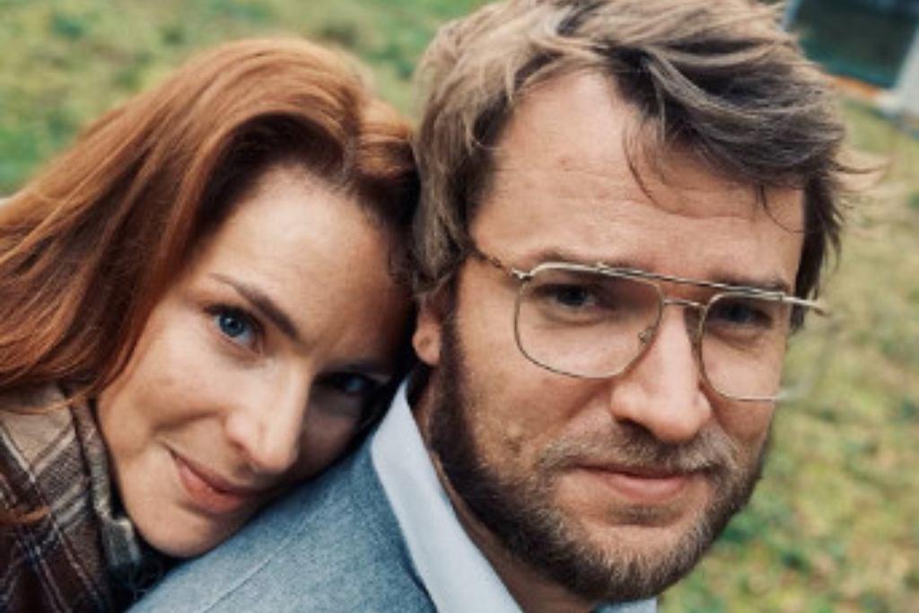 Anna Dereszowska z partnerem