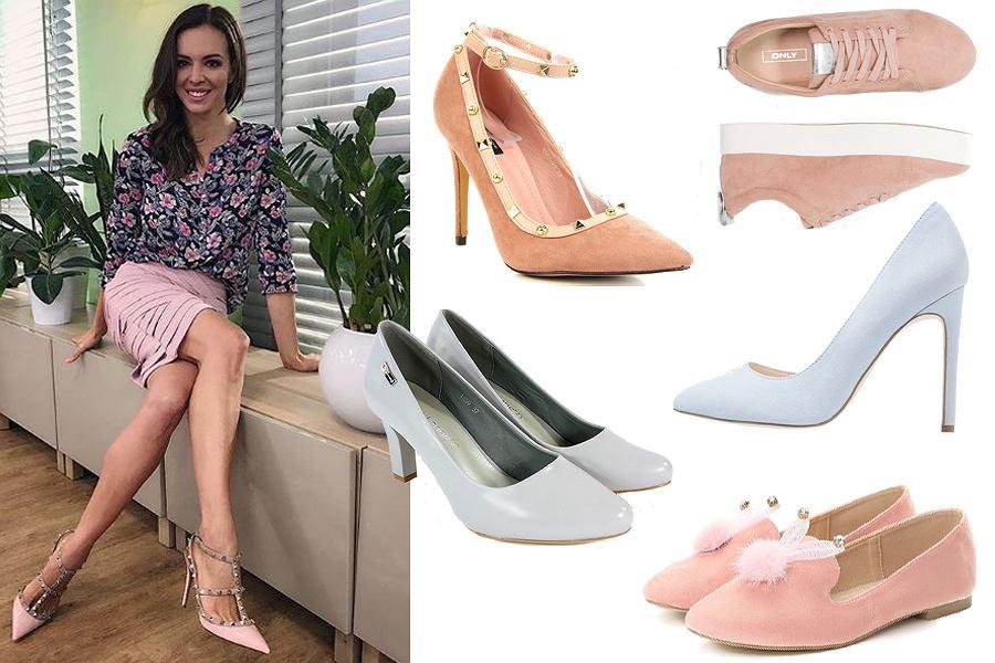 Kolaż, pastelowe buty/Materiały partnera