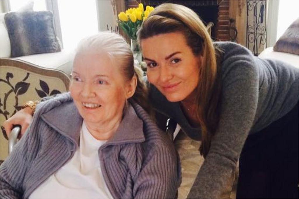 Hanna Lis z mamą
