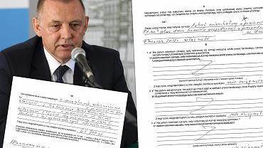 Oświadczenie majątkowe Mariana Banasia złożone przy okazji obejmowania stanowiska ministra finansów w czerwcu 2019 roku