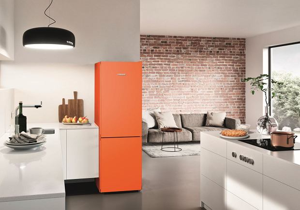 Lodówka CNno4313 Neon Orange