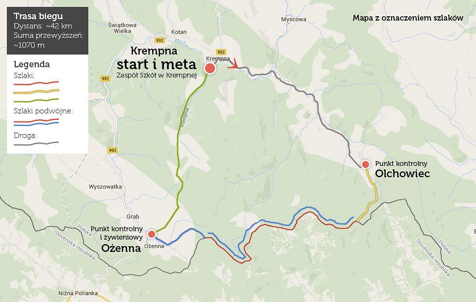 Trasa 42 km