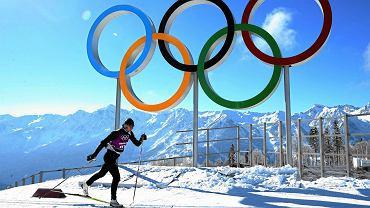 Justyna Kowalczyk na środowym treningu stylem klasycznym. Pierwszy bieg igrzysk - łączony - już w sobotę.