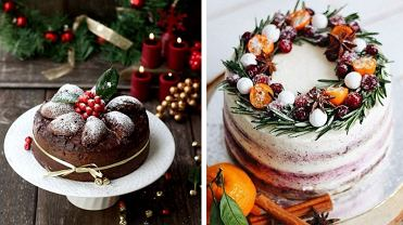 Bożonarodzeniowe ciasta można zrobić w nieco 'odchudzonej' formie
