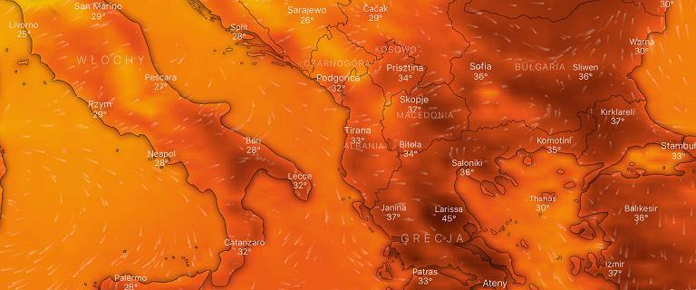 Upały w Europie. Synoptycy zapowiadają najgorętsze dni tego roku