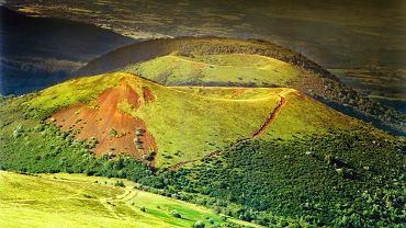 Wulkan w Owernii/ Fot. Shutterstock