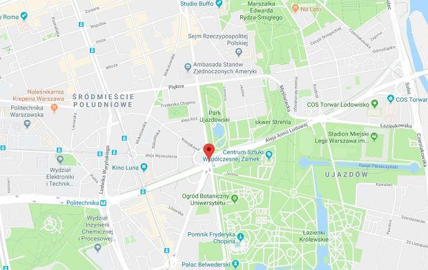 Aleja Armii Ludowej wróciła na internetowe mapy
