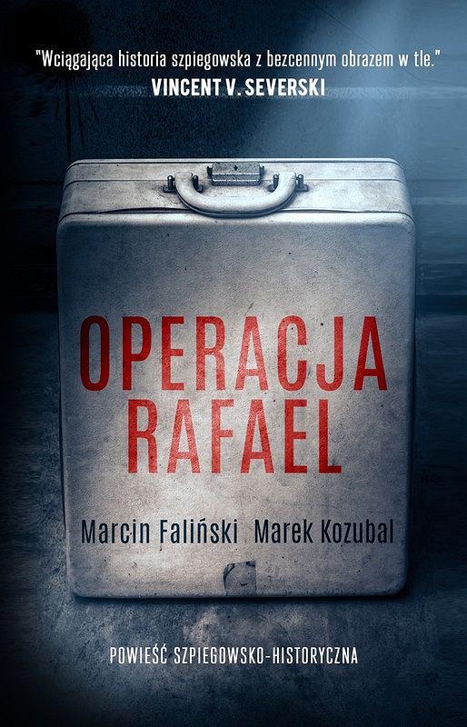 Okładka książki 'Operacja Rafael'