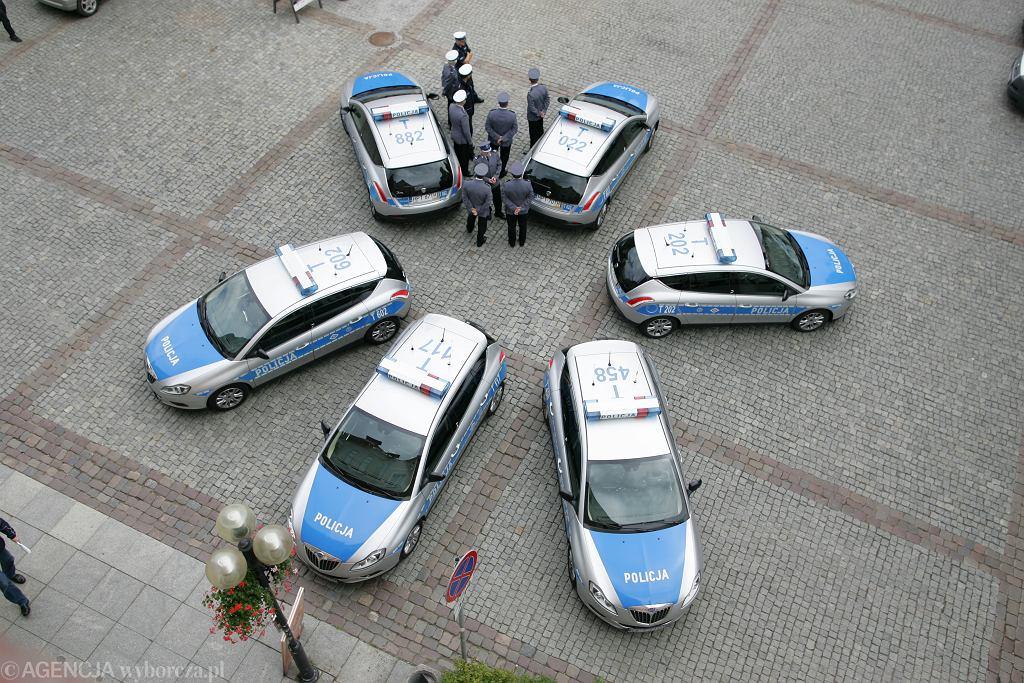 Radiowozy policji