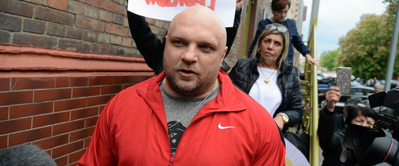 Arkadiusz Kraska wyszedł na wolność po prawie 20 latach więzienia (Fot. Krzysztof Hadrian / Agencja Gazeta)