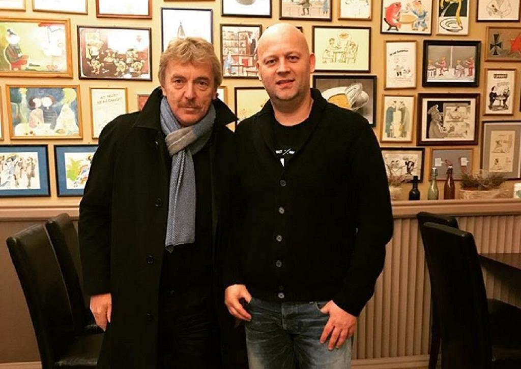 Nowy dyrektor sportowy Wisły Kraków, Adam Pietrowski ze Zbigniewem Bońkiem