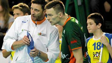 Piotr Gruszka w trakcie meczu BBTS-u
