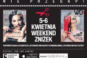 """Weekend zniżek w """"Wysokich Obcasach"""" - lista sklepów"""