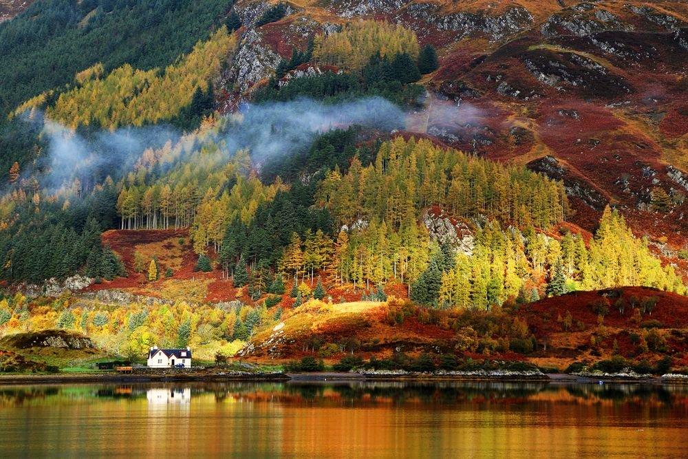 Złota jesień na angielskiej prowincji, Wielka Brytania
