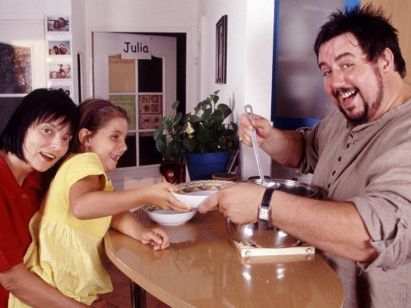 Dariusz Gnatowski nie dawał się chorobie. Na dietę przeszedł dzięki żonie i córce. Pięknie mówił o małżeństwie
