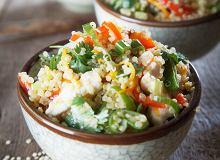 Komosa ryżowa z kurczakiem i warzywami - ugotuj