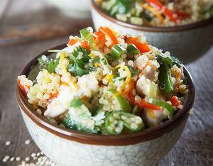 Komosa ryżowa z kurczakiem i warzywami