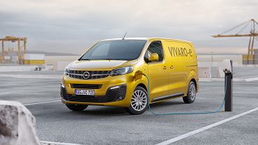 Elektryczny Opel Vivaro-e