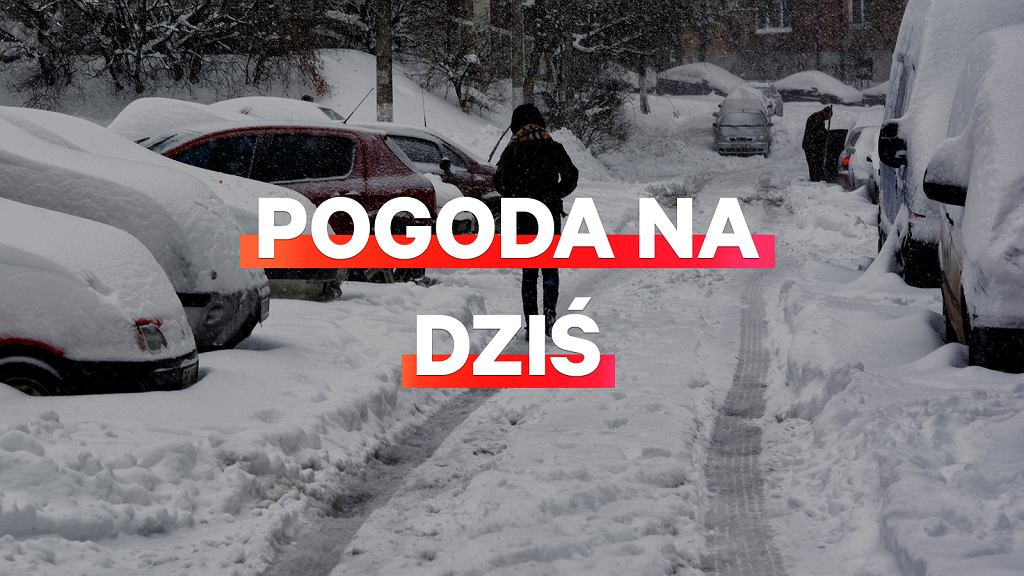Prognoza pogody na dziś - piątek 11 stycznia. W przeważającej części kraju spadnie śnieg