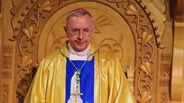Arcybiskup Stanisław Gądecki podczas uroczystości 100. rocznicy objawień fatimskich. Zakopane, 6 czerwca 2017