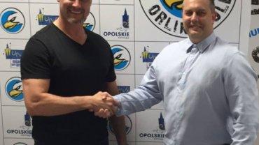 Trener Jason Morgan i prezes Dariusz Sułek