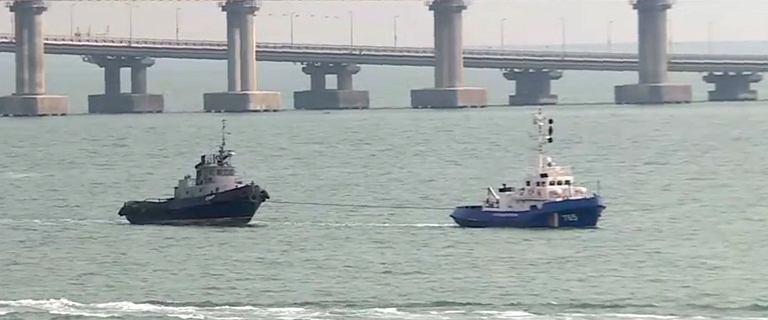 """Ukraina. Rosja zwraca okręty w złym stanie: """"Zdemontowali nawet toalety"""""""