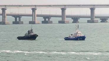 Ukraińskie okręty zatrzymane przez Rosję.