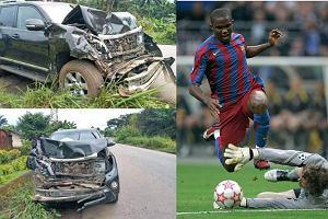 Samuel Eto'o miał wypadek samochodowy